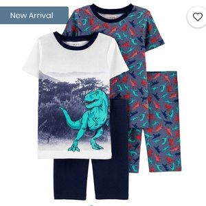 Boys Dinosaur Pajama Set